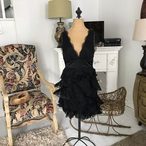 NWT Prom BCBG Maxazria Little Black Formal Dress